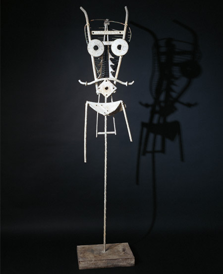 Robert Jacobsen, Uden titel, 1960, Jern. Højde: 215 cm., Privatsamling