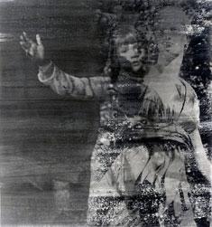 Uden titel, 1999. Fotoemulsion, 50 x 40 cm.