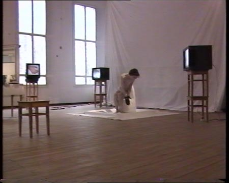 3 timer performance / installation Meltingtime #3 1992, Finland