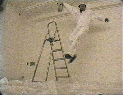 Step Ladder Blues, 1995 - Videoprojection - Duration 7 min