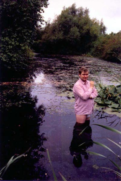 Untitled (Self-portrait in Lake), 1997 - Colour Photo 24x17 cm